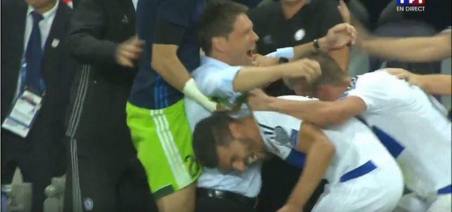 Luxemburg feiert nach 0:0 gegen Frankreich
