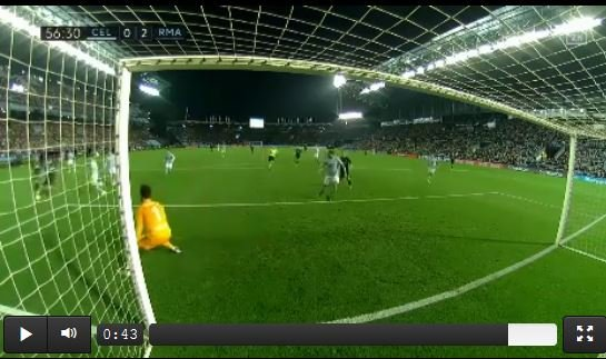 Kurioses Eigentor im Spiel zwischen Real und Celta Vigo