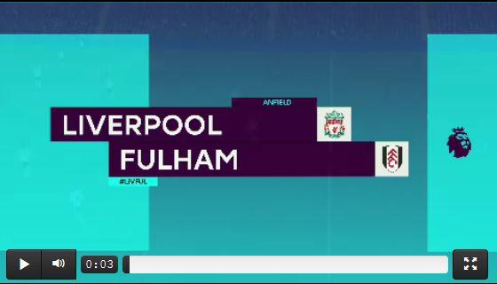Liverpools Heimsieg gegen Fulham (Highlights)
