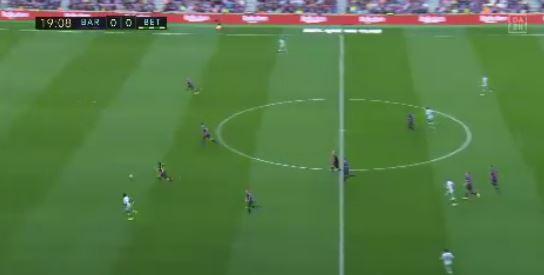 FC Barcelona verliert gegen Real Betis 3:4 (Highlights)