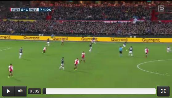 Feyenoord-Fans vermiesen PSV-Angriff