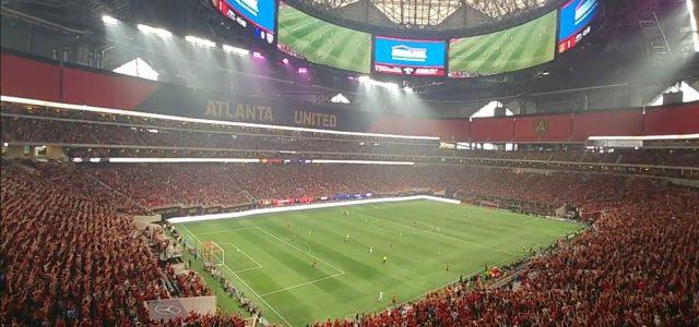 Irre Atmosphäre im neuen Atlanta-United-Stadion