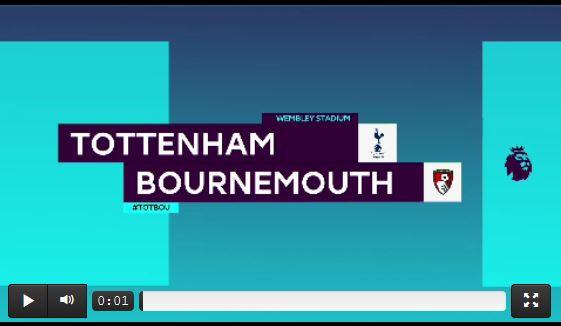 Tottenham mit Schützenfest gegen Bournemouth
