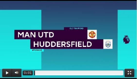 Läuft nach Mourinhos Abgang: United schlägt Huddersfield (Highlights)