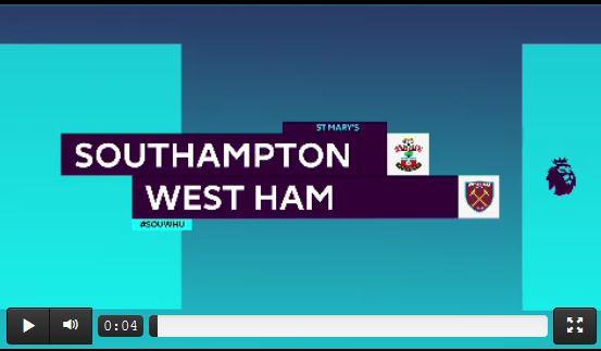 Hasenhüttls Southampton verliert gegen West Ham (Highlights)