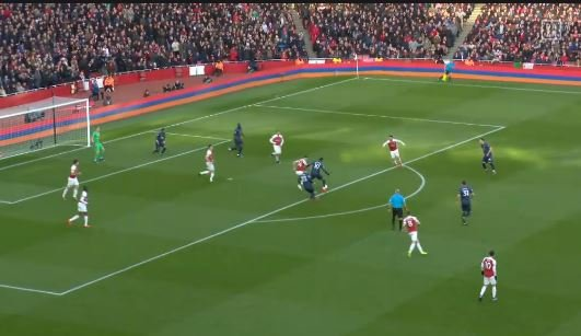 Arsenal schlägt Manchester United 2:0 (Highlights)