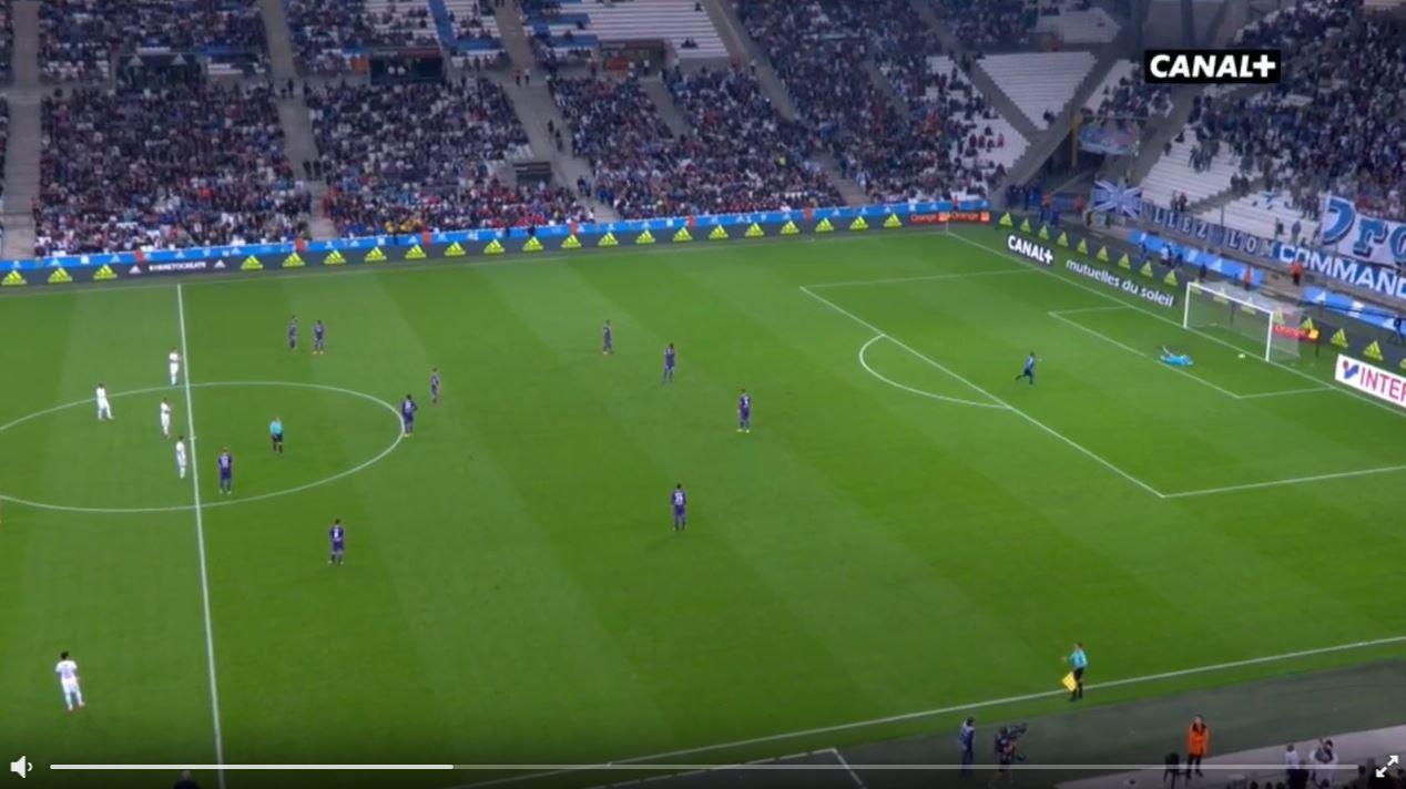Marseille-Fan macht Anstoß und erzielt ein Tor