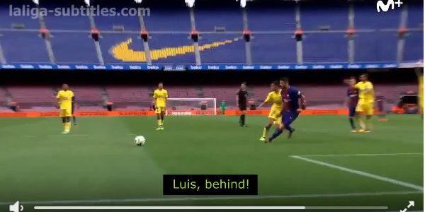 Coole Akustik beim Geisterspiel zwischen Barcelona und Las Palmas