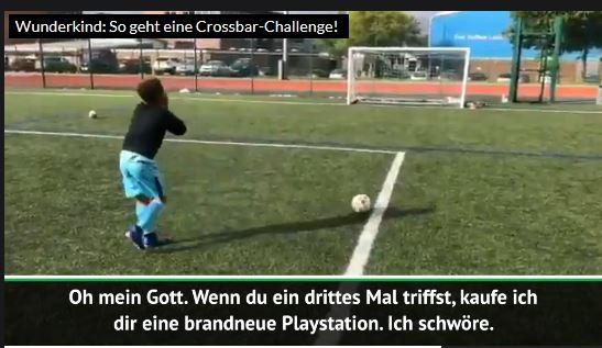 Wunderkind: So geht eine Crossbar-Challenge!
