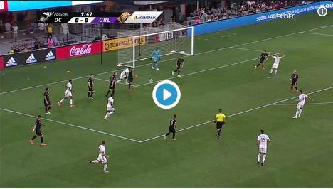 Tor aus 64 Metern: Wayne Rooneys irrer Treffer gegen Orlando City