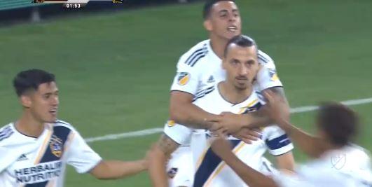 Doppelpack: Ibrahimovic mit zwei Derby-Treffern