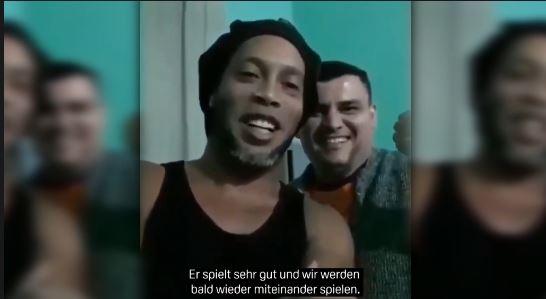 Ronaldinhos Video-Botschaft aus dem Gefängnis