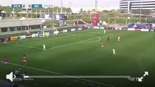 Super Tor vom Benfica-Nachwuchs