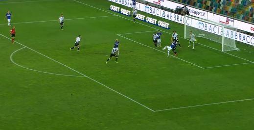 Fallrückzieher ins Glück! Traumtor von Sampdoria!