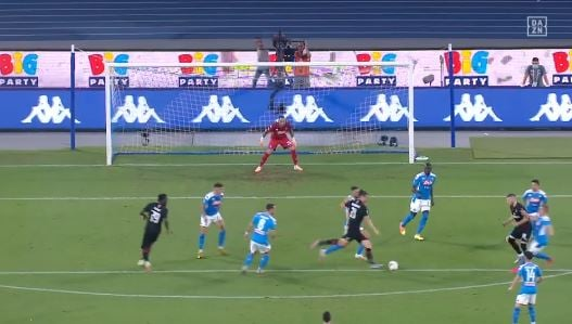 SSC Neapel - AC Milan 2:2 (Highlights)