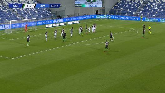 """3:3-Unentschieden – Sassuolo schockt die """"Alte Dame"""" (Highlights)"""