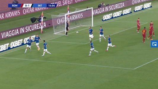 Vier Tore bei Roma gegen Inter (Highlights)