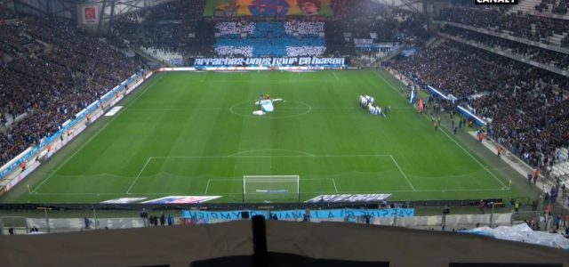 Tolle Stimmung vor Marseille gegen Monaco
