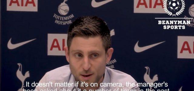 Spurs: Pressesprecher vs Journalist