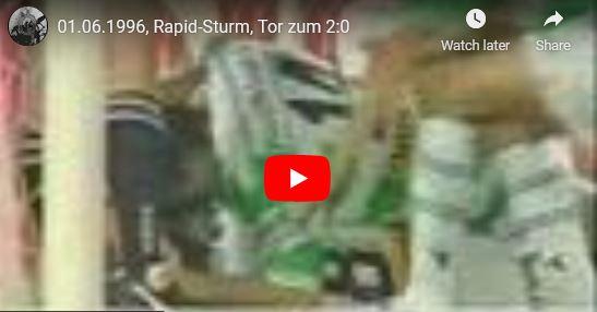 Meisterschaftsfinale 1996: Rapid – Sturm 2:0