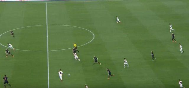 Tolle Kombination von Peru gegen Kroatien (2:0)