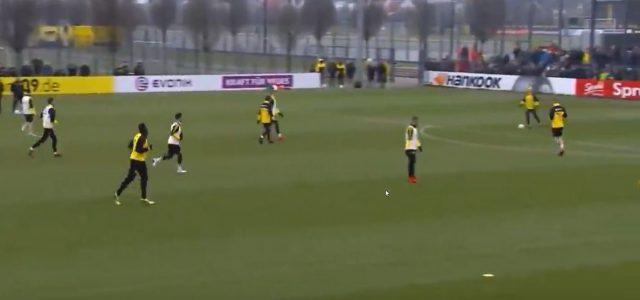 Usain Bolt trifft für Borussia Dortmund