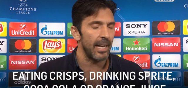 Interview: Buffon mit viel Kritik am Schiedsrichter