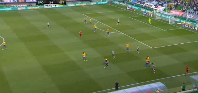 Zwei Tore aberkannt: Verrückte Schlussphase bei Sporting gegen Estoril