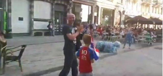 Kroatische Familie wird nach Finaleinzug in Brüssel gefeiert