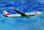 Flugzeug AUA