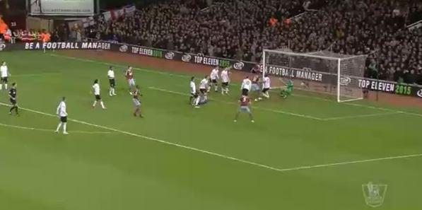 Cheikhou Kouyatés Tor gegen Manchester United