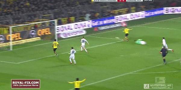 Kevin Kampls Assist für Reus gegen Mainz