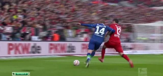 Bas Dosts zweiter Treffer gegen Leverkusen