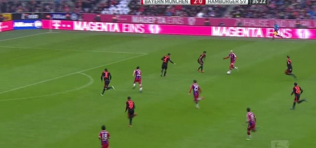 Robbens erster Treffer gegen den HSV