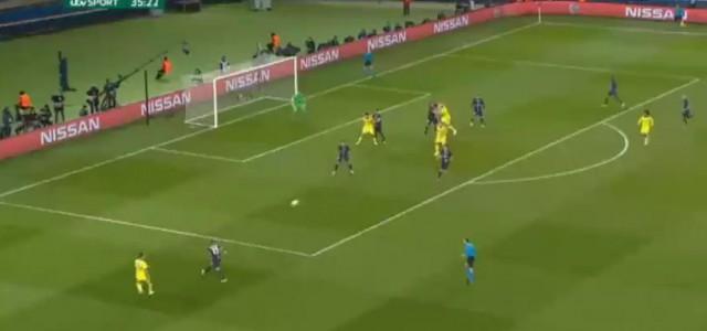 Ivanovic trifft zum 1:0 gegen PSG