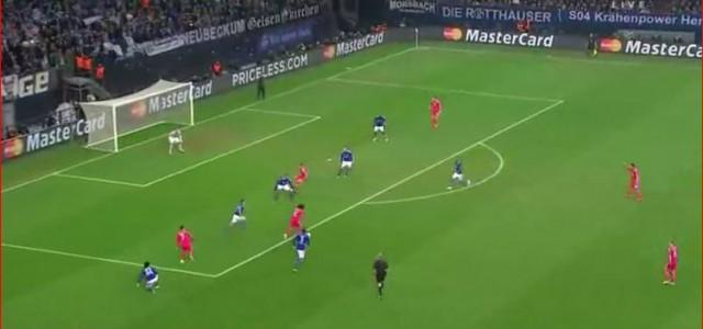 Marcelos Treffer zum 2:0 gegen Schalke 04
