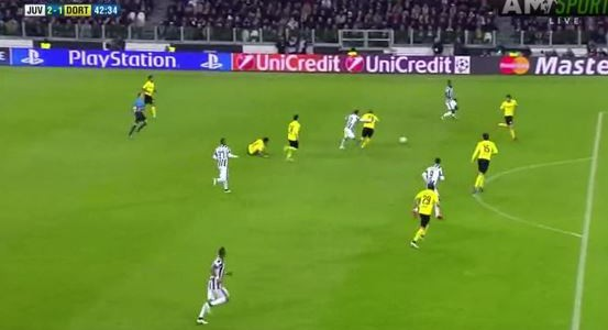 Alvaro Morata bringt Juventus wieder in Führung (2:1)