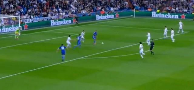 Fuchs trifft gegen Real Madrid zum 1:0!