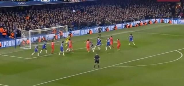 Thiago Silva erzielt in der Verlängerung das 2:2 gegen Chelsea