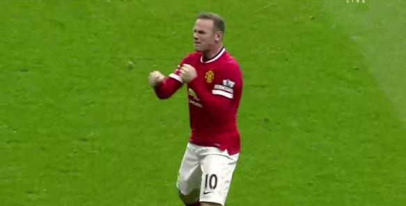 Rooneys selbstironischer Box-Torjubel gegen die Hotspurs