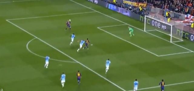 Ivan Rakitic erzielt 1:0 gegen City