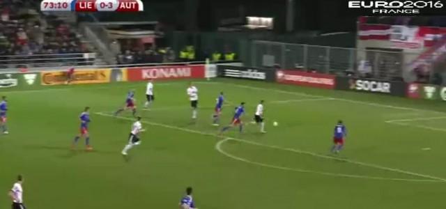 Traumhafter Kombination führt zum 4:0 gegen Liechtenstein