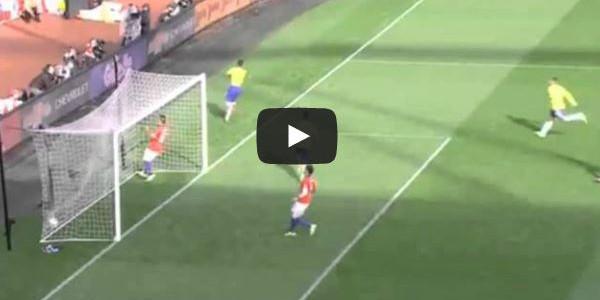 Roberto Firminos Siegtreffer gegen Chile