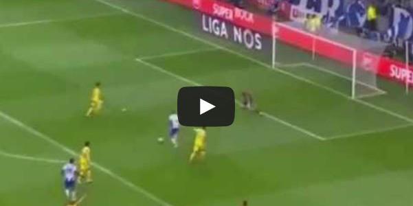 Toll herausgespieltes Tor vom FC Porto gegen Estoril