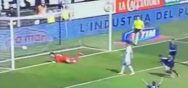 Germán Denis (Atalanta) erzielt fantastischen Treffer gegen Sassuolo