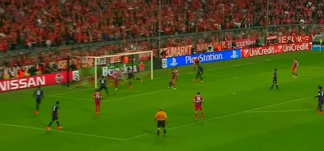 Thiago mit dem Führungstreffer gegen den FC Porto