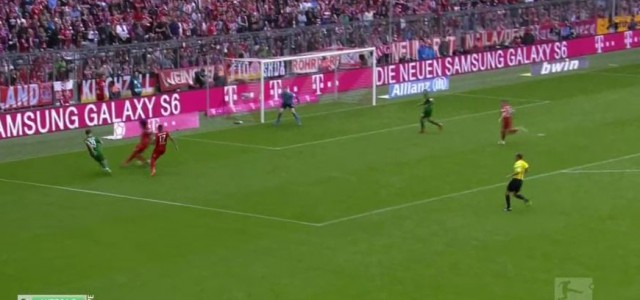 Raúl Bobadillas Treffer gegen den FC Bayern München