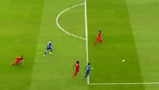 Nikola Kalinic erzielt 1:0 gegen Sevilla (EL-Finale)