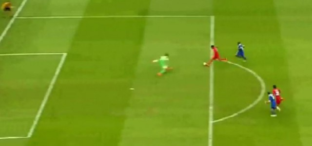 Carlos Bacca mit dem 2:1 für Sevilla (EL-Finale)