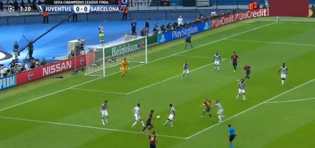 Rakitic mit dem 1:0 gegen Juventus (CL-Finale 2015)